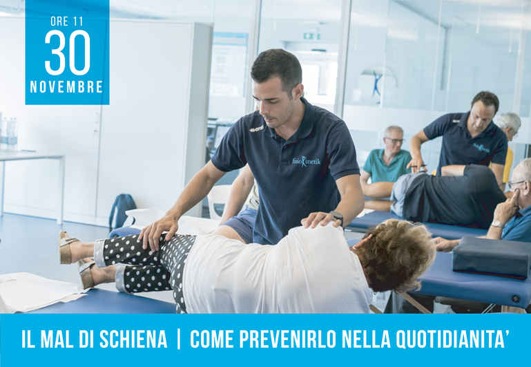 Fisiokinetik Corso Pratico per la Prevenzione del Mal di Schiena
