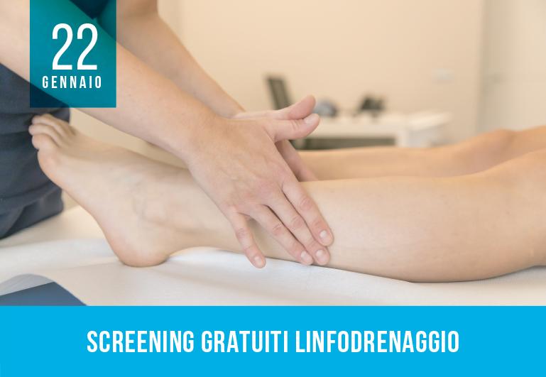 Screening Gratuiti Linfodrenaggio a Biella