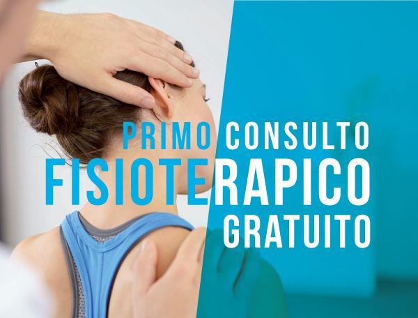 Primo consulto fisioterapico gratuito Fisiokinetik Biella