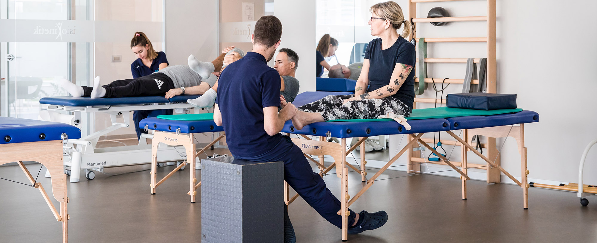 Fisioterapia e visite mediche specialistiche a Biella
