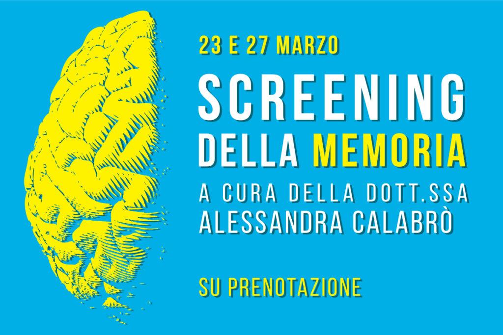 Screening della memoria a Biella Centro di fisioterapia Fisiokinetik
