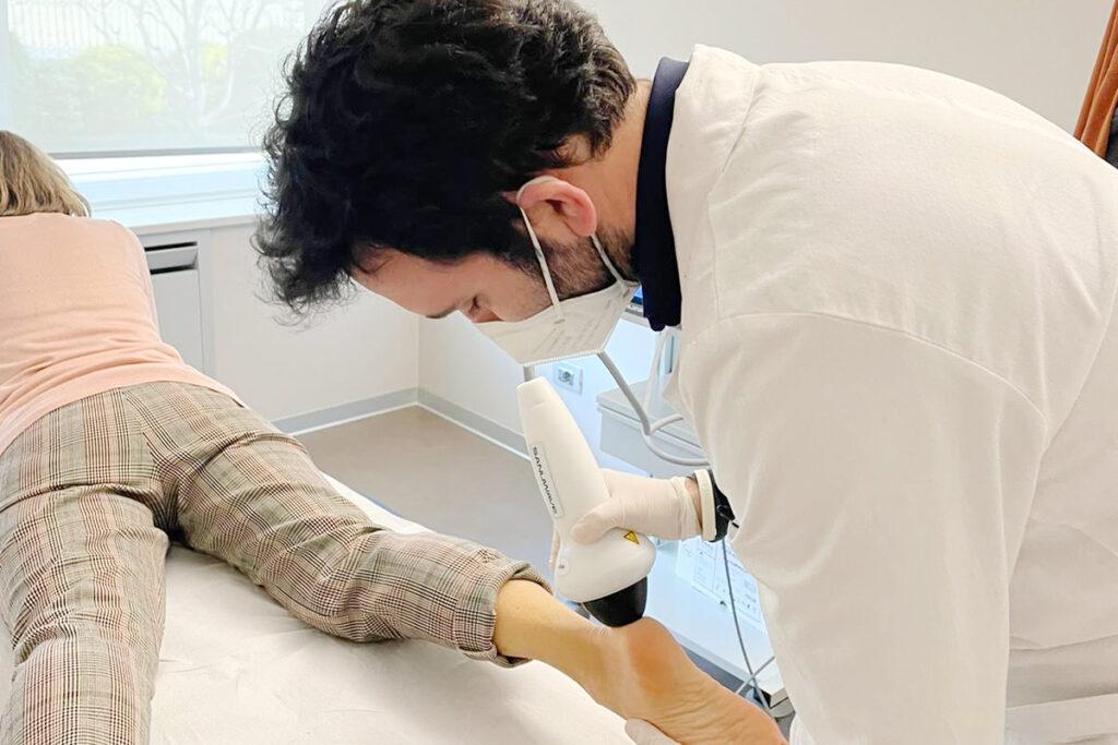 Terapia ad onde d'urto focali a Biella