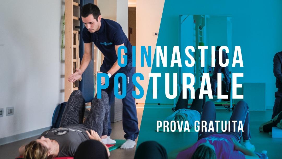 Ginnastica posturale prova gratuita centro di fisioterapia Fisiokinetik Biella